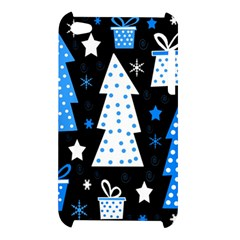 Blue playful Xmas Apple iPod Touch 4