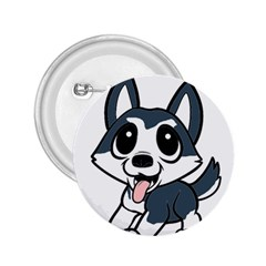Pomsky Cartoon 2.25  Buttons