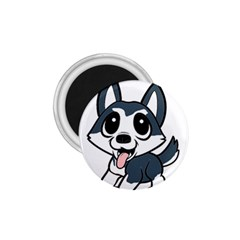 Pomsky Cartoon 1.75  Magnets