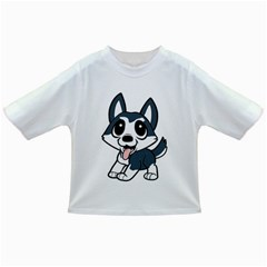 Pomsky Cartoon Infant/Toddler T-Shirts