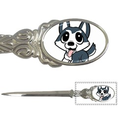 Pomsky Cartoon Letter Openers