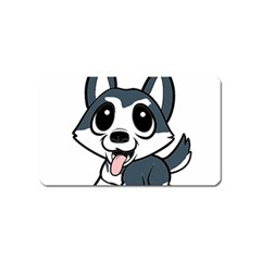 Pomsky Cartoon Magnet (Name Card)