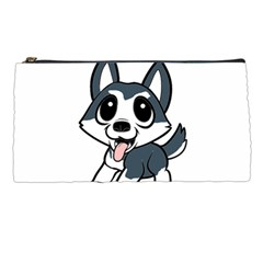 Pomsky Cartoon Pencil Cases