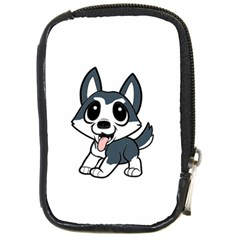 Pomsky Cartoon Compact Camera Cases