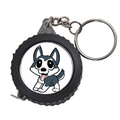 Pomsky Cartoon Measuring Tapes
