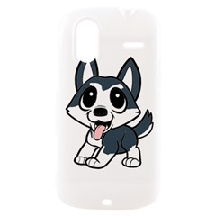 Pomsky Cartoon HTC Amaze 4G Hardshell Case