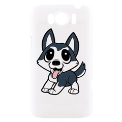 Pomsky Cartoon HTC Sensation XL Hardshell Case