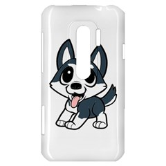 Pomsky Cartoon HTC Evo 3D Hardshell Case