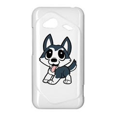 Pomsky Cartoon HTC Droid Incredible 4G LTE Hardshell Case
