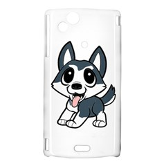 Pomsky Cartoon Sony Xperia Arc