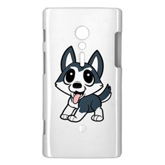 Pomsky Cartoon Sony Xperia ion