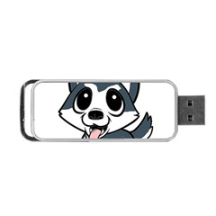 Pomsky Cartoon Portable USB Flash (Two Sides)