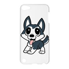 Pomsky Cartoon Apple iPod Touch 5 Hardshell Case