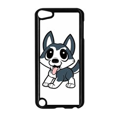 Pomsky Cartoon Apple iPod Touch 5 Case (Black)