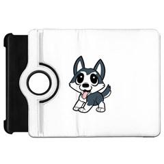 Pomsky Cartoon Kindle Fire HD Flip 360 Case