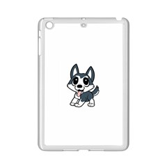 Pomsky Cartoon iPad Mini 2 Enamel Coated Cases