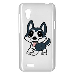 Pomsky Cartoon HTC Desire VT (T328T) Hardshell Case