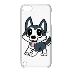 Pomsky Cartoon Apple iPod Touch 5 Hardshell Case with Stand