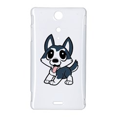 Pomsky Cartoon Sony Xperia TX