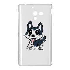 Pomsky Cartoon Sony Xperia ZL (L35H)