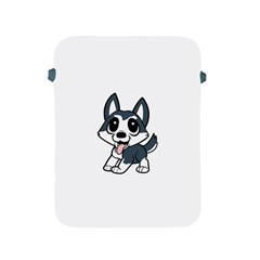 Pomsky Cartoon Apple iPad 2/3/4 Protective Soft Cases