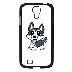 Pomsky Cartoon Samsung Galaxy S4 I9500/ I9505 Case (Black)