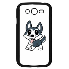Pomsky Cartoon Samsung Galaxy Grand DUOS I9082 Case (Black)