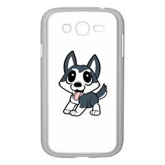 Pomsky Cartoon Samsung Galaxy Grand DUOS I9082 Case (White)