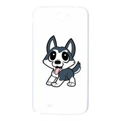 Pomsky Cartoon Samsung Note 2 N7100 Hardshell Back Case