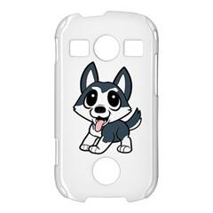 Pomsky Cartoon Samsung Galaxy S7710 Xcover 2 Hardshell Case