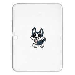 Pomsky Cartoon Samsung Galaxy Tab 3 (10.1 ) P5200 Hardshell Case