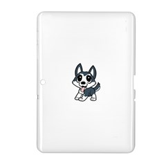 Pomsky Cartoon Samsung Galaxy Tab 2 (10.1 ) P5100 Hardshell Case