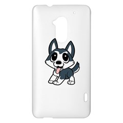 Pomsky Cartoon HTC One Max (T6) Hardshell Case