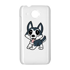 Pomsky Cartoon HTC Desire 601 Hardshell Case
