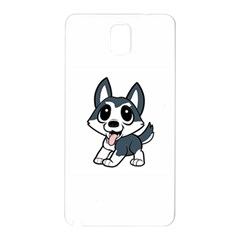 Pomsky Cartoon Samsung Galaxy Note 3 N9005 Hardshell Back Case