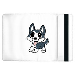 Pomsky Cartoon iPad Air Flip