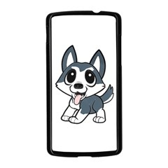 Pomsky Cartoon Nexus 5 Case (Black)