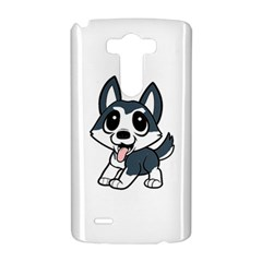 Pomsky Cartoon LG G3 Hardshell Case