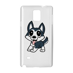 Pomsky Cartoon Samsung Galaxy Note 4 Hardshell Case
