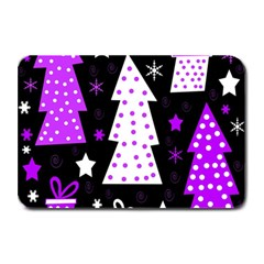 Purple Playful Xmas Plate Mats