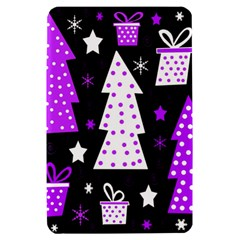 Purple Playful Xmas Kindle Fire (1st Gen) Hardshell Case