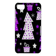 Purple Playful Xmas BlackBerry Z10