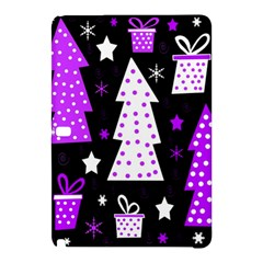 Purple Playful Xmas Samsung Galaxy Tab Pro 12.2 Hardshell Case