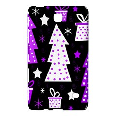 Purple Playful Xmas Samsung Galaxy Tab 4 (8 ) Hardshell Case
