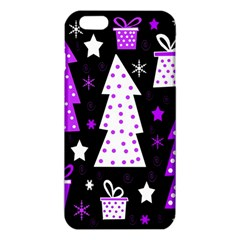 Purple Playful Xmas iPhone 6 Plus/6S Plus TPU Case