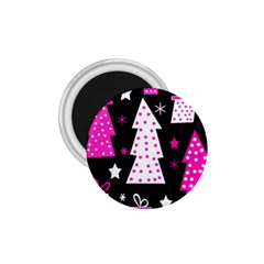 Pink playful Xmas 1.75  Magnets
