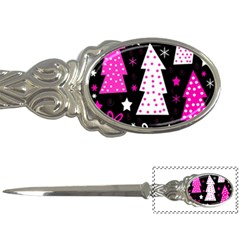 Pink playful Xmas Letter Openers