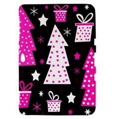 Pink playful Xmas Samsung Galaxy Tab 8.9  P7300 Hardshell Case