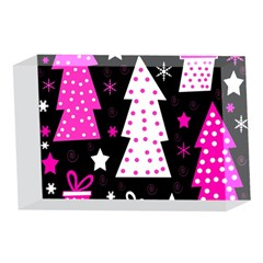 Pink playful Xmas 4 x 6  Acrylic Photo Blocks