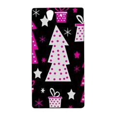 Pink playful Xmas Sony Xperia Z
